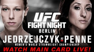 UFC Fight Night Berlin LIVE Sat 3p ET – Fight Network Canada