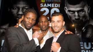 Lemieux vs. N'Dam Weigh-in Results, Presser Quotes & Photos