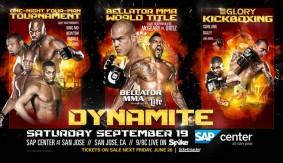 Adamchuk vs. Boynazarov GLORY Bout Added to Bellator MMA: Dynamite 1