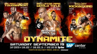 Adamchuk vs. Boynazarov GLORY Bout Added to Bellator MMA: Dynamite 1