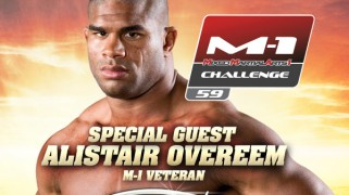 Alistair Overeem Special Guest at M-1 Challenge 59 on July 3