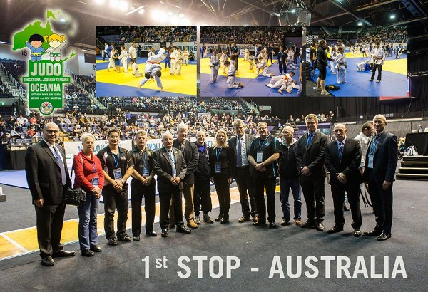 Oceania Judo Eyes Exciting Future After IJF Educational Tour