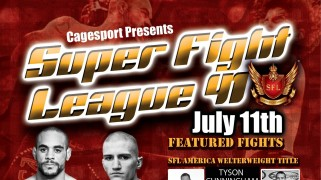 Two Titles on the Line at SFL 41 this Saturday in Washington