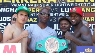 HBO Latino: Herrera-Lundy Weigh-in Results, Photos, Video