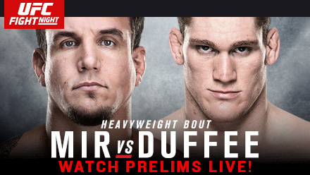 UFC Fight Night: Mir vs. Duffee Preview & Predictions