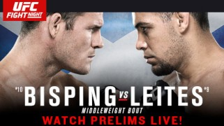 UFC Fight Night: Bisping vs. Leites Weigh-in Results