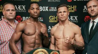 ShoBox: Douglas vs. Szili Weigh-in Results & Photos