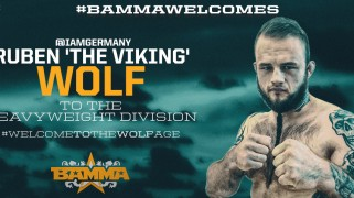 BAMMA Signs Ruben 'The Viking' Wolf to Multi-Fight Deal