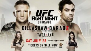UFC Fight Night: Dillashaw vs. Barao 2 Weigh-in Results