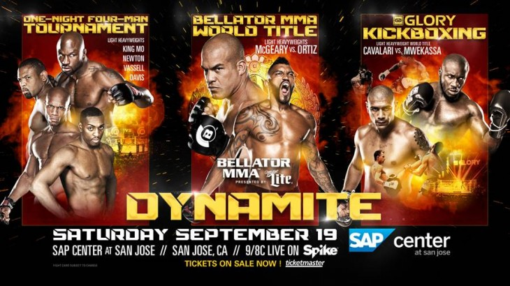GLORY 205 Title Bout Added to Bellator 142: Dynamite