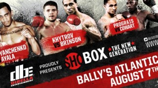 Full Card Set for Friday's 'ShoBox' Tripleheader