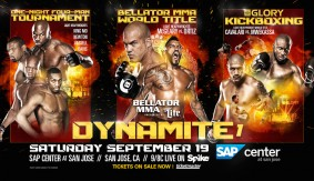 Third World Title Fight Added to Bellator MMA: Dynamite 1