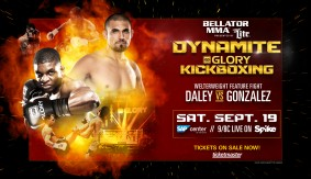 Daley-Gonzalez Kickboixng Bout Added to Bellator: Dynamite 1