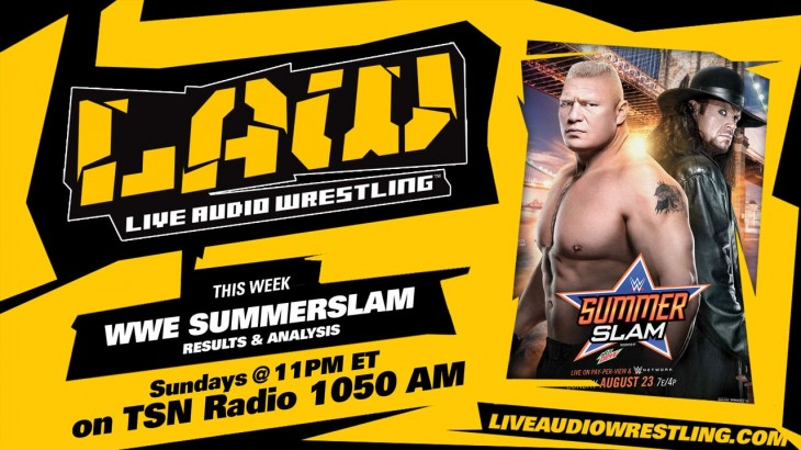 Aug. 23 Edition of The LAW: Summerslam 2015 Post Show
