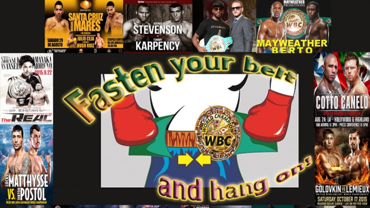 Fasten Your Belts with WBC – Upcoming Event Schedule