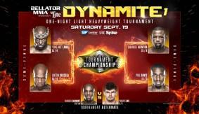 Semifinal Pairings Set for Bellator MMA: Dynamite 1
