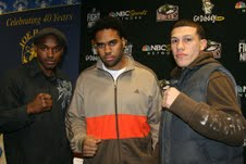 Eddie Chambers, Philly Fighters Welcome NBC Sports Network