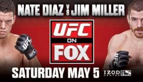 UFC on Fox 3 Poster Hrztl