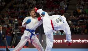 Day 2 of World Karate Federation Championships 2012