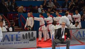Day 3 of World Karate Federation Championships 2012