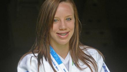 Monika Burgess Finishes 5th at Judo GP in South Korea