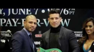Video – HBO Boxing: Sergio Martinez Pre-Fight Interview