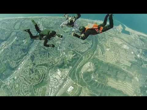 Video – Full Contact Skydiving Starring Urijah Faber