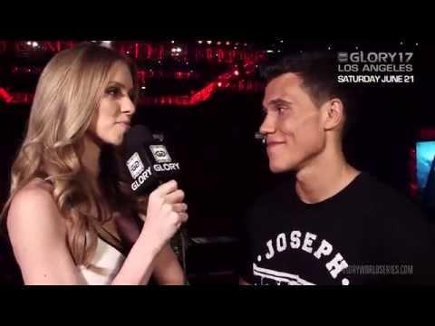 Video – GLORY Girl Elle Evans Talks to Joe Valtellini