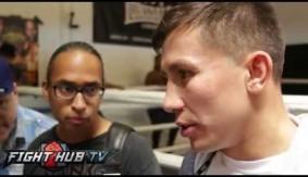 Videos - Gennady Golovkin Media Workout & Scrum