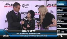 Video - Joan Jett on Ronda Rousey's 'Bad Reputation'