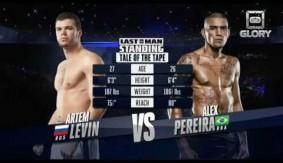 Video – GLORY Free Fight: Artem Levin vs. Alex Pereira
