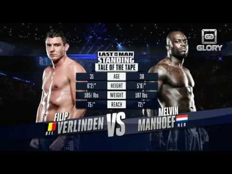 Video – GLORY Free Fight: Filip Verlinden vs. Melvin Manhoef