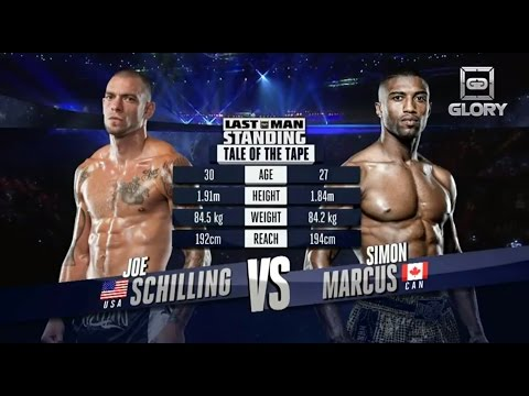 Video – GLORY Free Fight: Joe Schilling vs. Simon Marcus