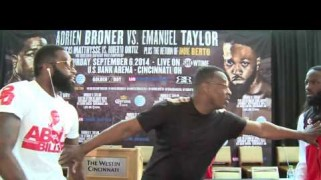 Video – Showtime Boxing: Adrien Broner Chokes Taylor