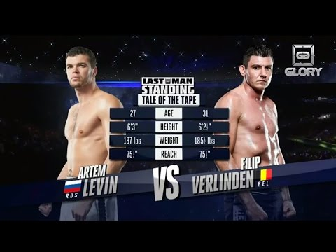 Video – GLORY Free Fight: Artem Levin vs. Filip Verlinden