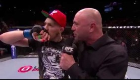 Video - UFC 178: Conor McGregor Octagon Interview