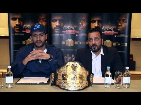 Video – GFC 4 Press Conference with Badr Hari