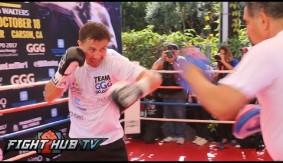 Video - HBO Boxing: Gennady Golovkin Media Workout