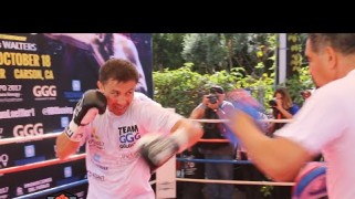 Video – HBO Boxing: Gennady Golovkin Media Workout