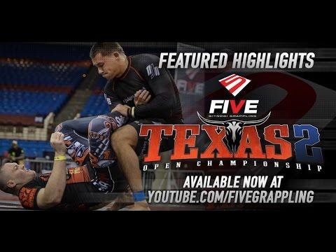 Video – Five Grappling: Gi/No Gi Texas 2 Highlights