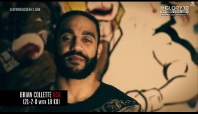 Video – GLORY 18: Brian Collette Pre-Fight Interview