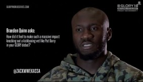 Video – GLORY 18: Fan Sourced Q&A with Zack Mwekassa