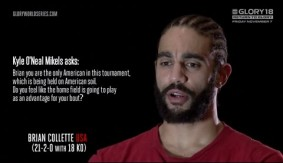 Video – GLORY 18: Fan Sourced Q&A with Brian Collette