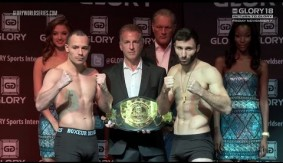 Video – GLORY 18 LIVE on Fight Network Weigh-ins
