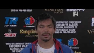 FN Video: HBO PPV: Manny Pacquiao Talks Algieri & Shiming