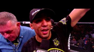 Video – UFC Fight Night 57: Edson Barboza Octagon Interview