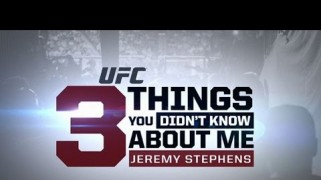 Video – TUF 20 Finale: 3 Things with Jeremy Stephens