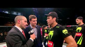 Video – UFC Fight Night 58: Lyoto Machida Octagon Interview