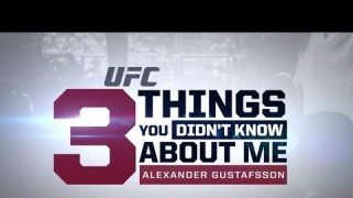 Video – UFC on FOX 14: 3 Things with Alexander Gustafsson