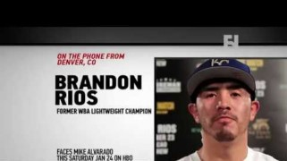 FN Video: HBO Boxing: Brandon Rios Talks Alvarado Trilogy